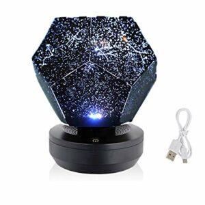 XILALA Très Beau, Projecteur Sky Star Light Projecteur Starry Night Lights LED Enfants Galaxy Lampe nébuleuse Veilleuse,Le Cadeau Parfait