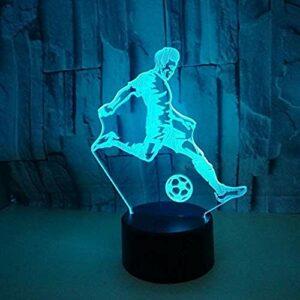 7 Couleurs Lampe De Sommeil Lumière Colorée Tactile 3D Lampe Illusion Led Veilleuse U Décoration De La Maison