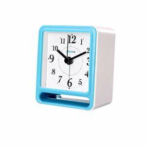 AFCITY Réveil De Chevet Réveil Rechargeable Multi-Fonction étudiant Muet Petite Horloge électronique Numérique Utilisation Facile à Lire