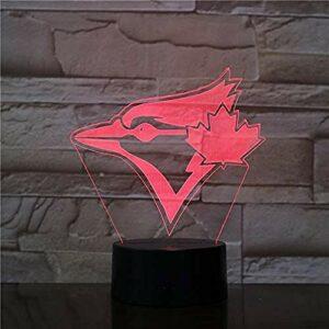 Flightless Bird 3D LED veilleuse enfants Led nuit lampe Final fantaisie veilleuse pour enfant chambre décor lumière garçons meilleur cadeau