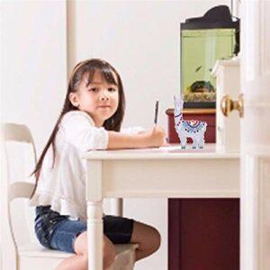 likeitwell Veilleuse à LED en alpaga – Créative – Peinte – Décoration de chambre d'enfant – Cadeau essentiel – Type standard économique