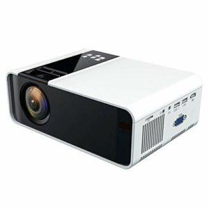 Bewinner Projecteur portatif de projecteur de WiFi 4K Bluetooth LED 1080P avec Le projecteur à télécommande de projecteur à la Maison d'affichage à Cristaux liquides de Soutien 1080P(EU)