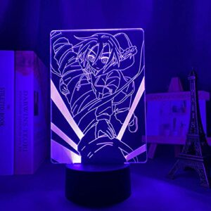Lampe D'Illusion 3D Led Veilleuse La Décoration Intérieure Du Thème Anime Shakugan No Shana Convient Comme Chambre Ou Cadeau D'Anniversaire