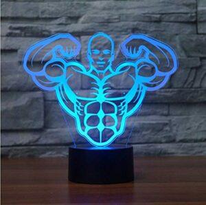 Mignon 3D Led éclairage joyeux noël chaussette cloche RGB veilleuses USB lampe de bureau tactile maison Happyyear cadeau de noël pour les enfants