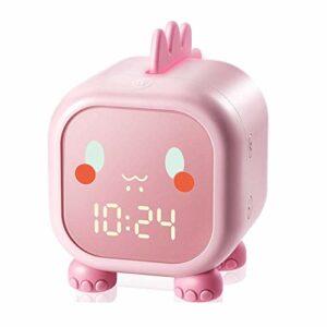 Réveil pour Enfants, réveil numérique de Dinosaure avec Mode de répétition veilleuses de Chambre à Coucher, Horloge de Chevet veilleuse pour entraîneur de Sommeil pour Enfants avec température pour g