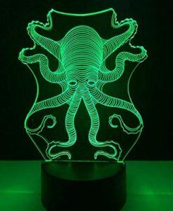 Vbnmda Dessin animé Réveille-Horloge Planète Collier de Flotte Illuminée Réveil numérique Coloré LED Petit réveil Réveil Horloge pour Enfants Best Anniversaire Enfants (8 * 8 * 8cm 1-6