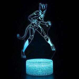 Veilleuse 3D monstre LED magique, télécommande à changement de couleur – Cadeau créatif pour enfants