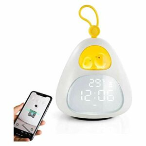 YuKeShop Réveil numérique avec veilleuse, réveil pour enfants et étudiants avec fonction snooze pour chambre de filles et garçons