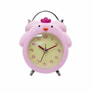 ZLBYB Réveil – Réveil Kids for Filles garçons, Cadeaux d'enfants for Sommeil Formateur Nursery Nuit Light Touch réveil, lumière de Nuit for Les Enfants (Color : Pink)