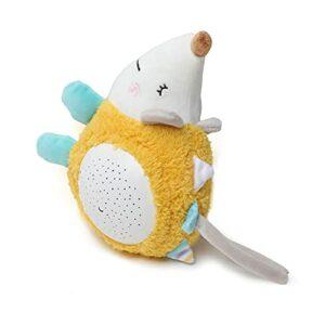 Baby Dormir Sleeher Sleeher Sound Machine de Son avec projecteur Musique Lumière Sleep Toys Cadeau pour bébé Nouveau-né Douche de bébé 0+ Garçons ou Filles (Color : Hedgehog)