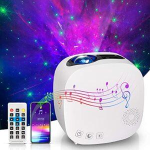 GIANTARM Projecteur de ciel étoilé pour adultes, projecteur d'étoiles, veilleuse pour enfants, lampe ciel étoilé, projecteur LED avec Bluetooth, haut-parleur.