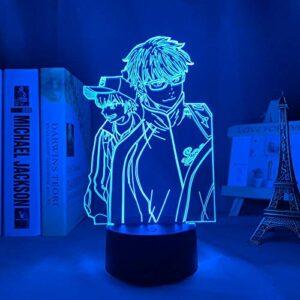 Lampe D'Illusion 3D Led Veilleuse Diamant Ace Chambre Décoration Manga Anime Cadeau Table Ace Diamant Anniversaire Noël Vacances Garçon Fille
