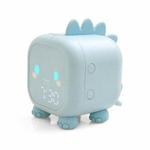 Oyria Réveil pour Enfants Réveil numérique Mignon de Dinosaure pour Enfants Horloge de Chevet Trainier de Sommeil pour Enfants, réveil Lumineux et veilleuse pour Le Sommeil des Enfants