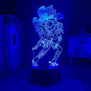 Veilleuse 3D – Motif anime 3D – Cadeau d'anniversaire – Cadeau pour les enfants.
