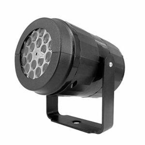 Allibuy Lampe De Projecteur AC85V-240V 5W 4 LED 12 Modèles Mini Lampe De Projecteur Rotative Spot Sky Night Lightpour La Fête