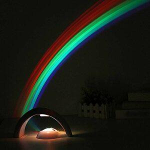 Allibuy Lampe De Projecteur Lucky Rainbow Light Amazing Projector Lampe LED 3D Sky Night Lightpour La Fête
