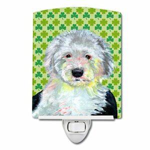Caroline's Treasures Veilleuse de Noël Motif chien de berger anglais Multicolore 6 x 4 x 3 cm
