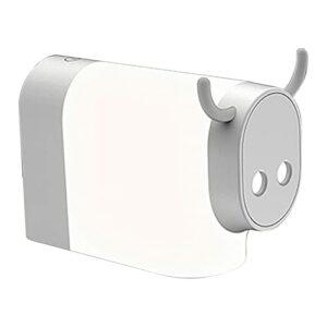 Dulov Veilleuse 12 LED USB rechargeable en forme de vache Lampe de bureau pour chambre d'enfant, bébé et enfants Cadeau Fête Lampe de chevet