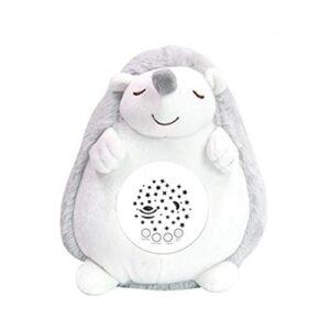 Peluche pour bébé – Lumière de nuit pour enfants – Bruit blanc pour bébé – Chansons Projecteur musical pour bébé – Cadeau pour nouveau-né