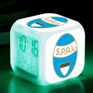 TYWFIOAV Lampe de Table pour Chambre d'enfant réveil Tactile éclairage LED réveil réveil Enfant réveil