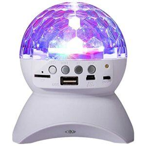 vowit Projecteur De Nuit en Rotation, avec Haut-Parleur Bluetooth, Lampe De Table Colorée à LED pour Bébés Enfants Adultes dans La Chambre/Cadeaux d'anniversaire De Noël