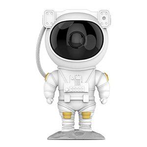 Rongchuang Projecteur Star LED, Télécommande Et Minuterie Astronaute Design Skid Sky Star Star Projecteur STAR pour Chambre à Coucher, Lumière de Nuit pour Enfants