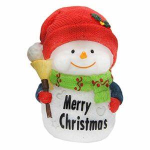 Ogquaton Mini veilleuse de Noël pour Enfant Rouge Durable et Pratique