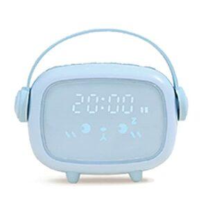 Persdico Mini capteur Intelligent Multifonctionnel USB veilleuse réveil Durable Sommeil Formation synchronisation Alarme Snooze