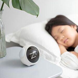 Réveil pour enfant avec veilleuse, réveil numérique intelligent avec LED (version expression)