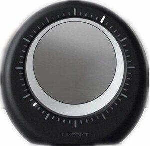 Réveil pour enfants LED Alarme numérique avec veilleuse Opération simple Snooze Gamme complète de gradateur de luminosité Alimenté par le secteur Léger (Couleur : Blanc, Taille : 128 * 41 * 134MM)